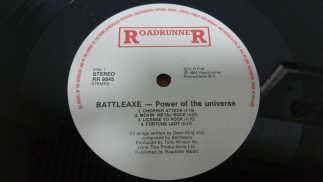 Battleaxe-Power From The Universe