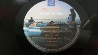 Pink Floyd1987A Momentry Lapse Of ReasonEMIFrance