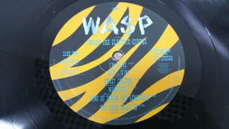 W.A.S.P.1986Inside The Electric CircusCapitolUK